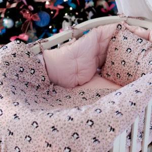 Комплект постельного белья для новорожденных TAO ROSE