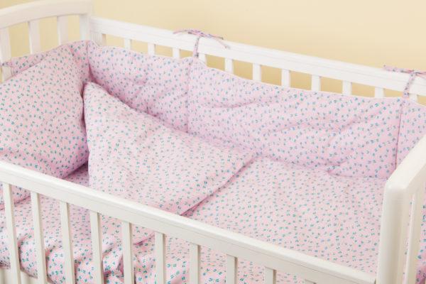 Комплект постельного белья для новорожденных SAKURA ROSE