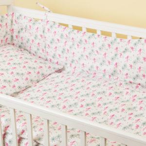 Комплект постельного белья для новорожденных TAHITI LIN