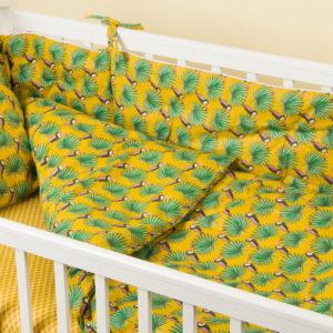 Комплект постельного белья для новорожденных MAMBO CURRY