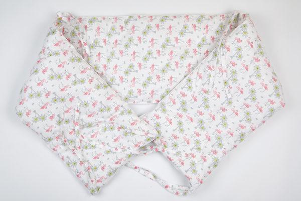 Комплект постельного белья для новорожденных TAHITI BLANC