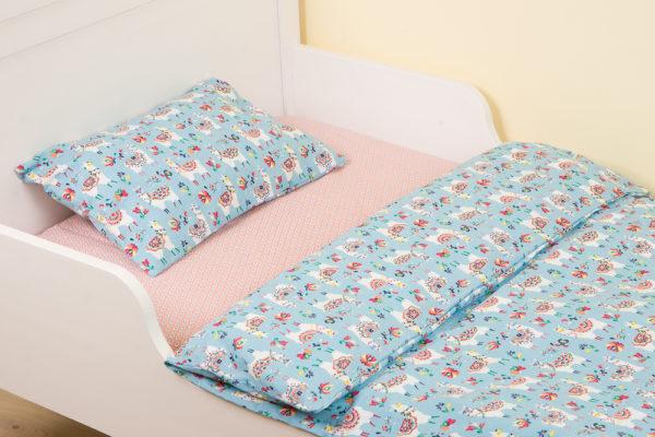 Комплект постельного белья для детей ALPAGA BLEU