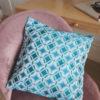 Декоративная подушка 40х40 см Лазурь
